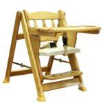 Ghế gỗ ăn bột autoru