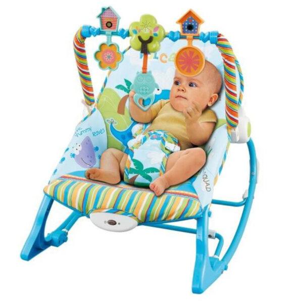 Ghế rung kiêm bập bênh cho bé Konig Kids KK63562