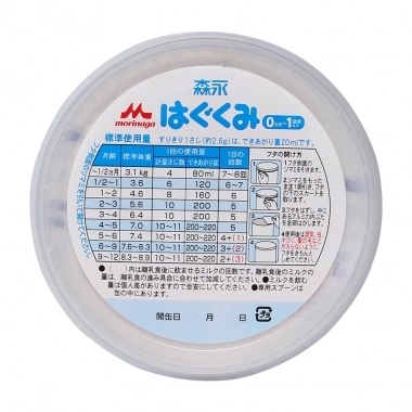Thành phần dinh dưỡng cửa sữa bột Morinaga