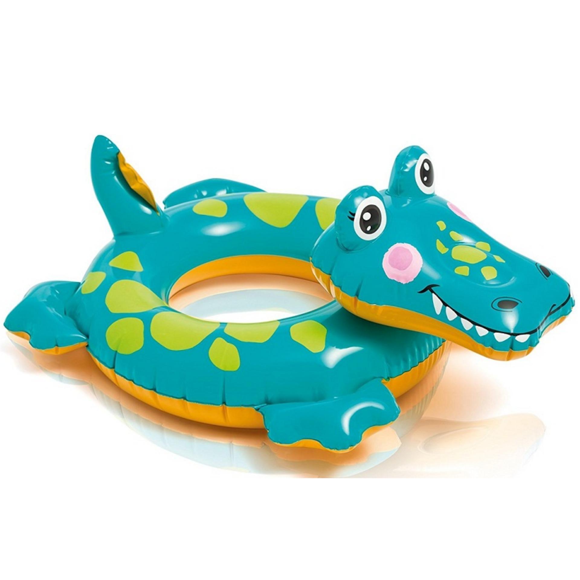 Phao bơi Intex hình cá sấu