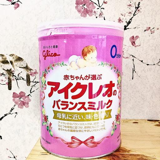 Sữa glico số 0 800g nội địa nhật 0-12 tháng