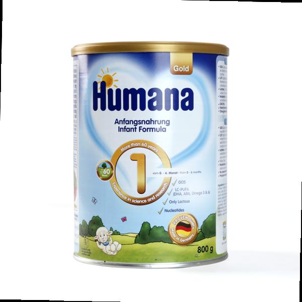 Sữa Humana số 1 800g