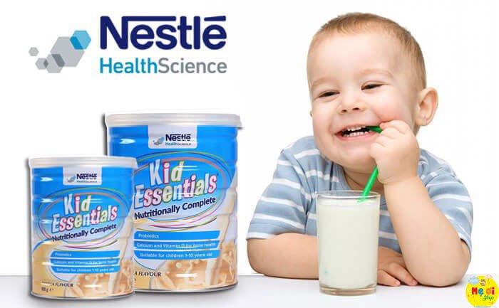 Sữa Kid Essentials có tăng cân không?