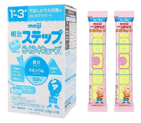 Sữa Meiji số 9 dạng thanh cho bé 1 - 3 tuổi