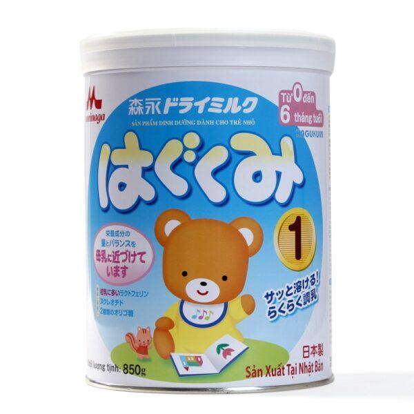 Sữa Morinaga số 1 - 850g nhập khẩu