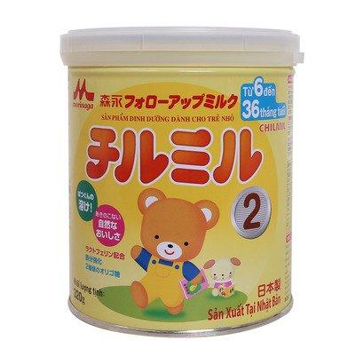 Sữa morinaga số 2 320g dành cho bé từ 6 đến 36 tháng