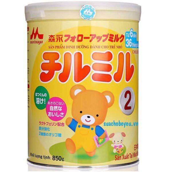 Sữa Morinaga số 2 850g nhập khẩu