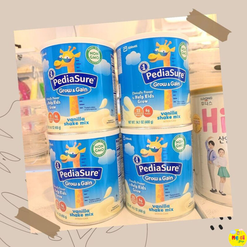 Sữa Pediasure Mỹ 400g dành cho trẻ biếng ăn giá rẻ vũng tàu