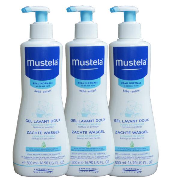 Sữa tắm cho bé Mustela của Pháp 500ml