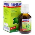 Tinh chất Prospan điều trị ho cho bé