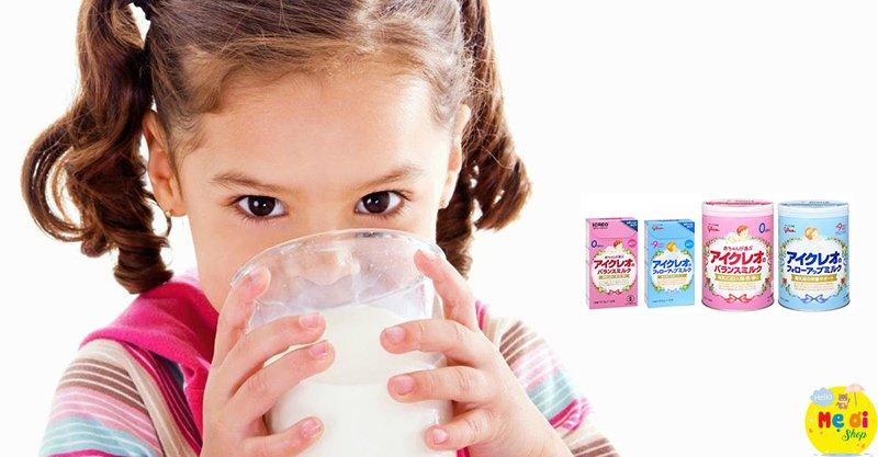Sữa Glico giúp bé tăng cân nhanh chóng