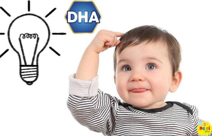 Bổ sung DHA giúp bé tăng trưởng trí thông minh