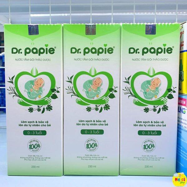 Nước tắm gội thảo dược dr papie giá rẻ vũng tàu